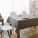 Nappe de table table moderne Rouge et bleu linge Brun café basse nappe rectangle rond