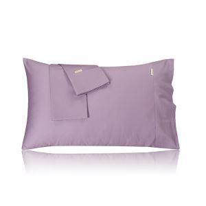 (Entrepôt UE) Pur coton satin taie 60 couchage enveloppe 48 * 74 oreiller en coton couvre une paire de robe