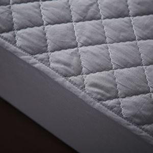 (Entrepôt UE) Une pièce lit en coton épais boutis protège-matelas200*220cm