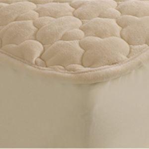 (Entrepôt UE) cristal de velours Protège matelas simple épaisseur boutis couverture Simmons matelas protecteur dérapant 180*200cm