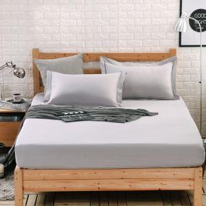 Protège matelas solide Couvre-lits en coton matelas protecteur 150*200cm