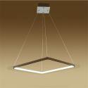 (Entrepôt UE) Moderne Simple Métal + Acrylique Blanc / blanc chaud LED SMD--1*40W Lustre