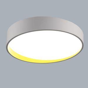 (Entrepôt UE) Moderne Simple métal+plastique+acrylique processus de cuisson LED--1*64W Lustre deux couleurs de lumière(blanc+Blanc chaud)Sans télécommande