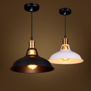 (Entrepôt UE) Suspension lustre Style américain campagne industriel rétro rustique en fer bronze