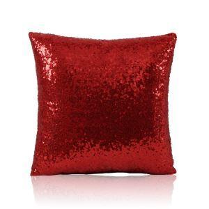 Taie de coussin magique 40*40cm rouge