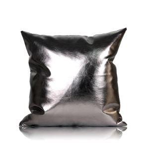 Taie de coussin en cuir PU souple voiture 50*50cm pour canapé sofa