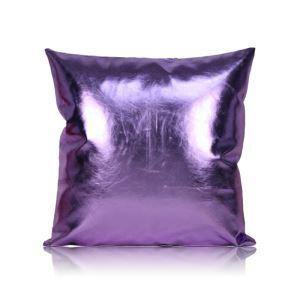 Taie de coussin en cuir PU 60*60cm pour canapé sofa