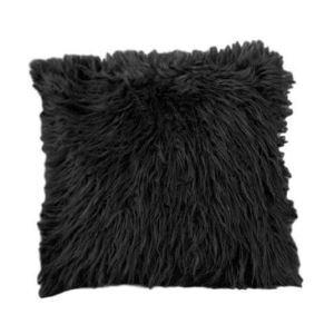 Taie de coussin oreiller Imitation fourrure de Mouton de Tan Coussin de canapé de voiture
