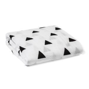 (Entrepôt UE) homelava conception indépendante, bébé sacs en coton noir et blanc serviette triangle Motif 120*120cm