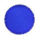 (Entrepôt UE)Set de table perlés à la main perle de verre bleu glands de perles napperon