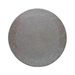 (Entrepôt UE)Set de table perlés à la main Perles de verre de couleur cristal Haut de gamme de luxe napperon
