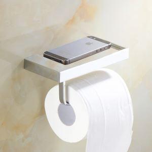 Porte-papier porte-téléphone en cuivre Accessoires de salle de bain