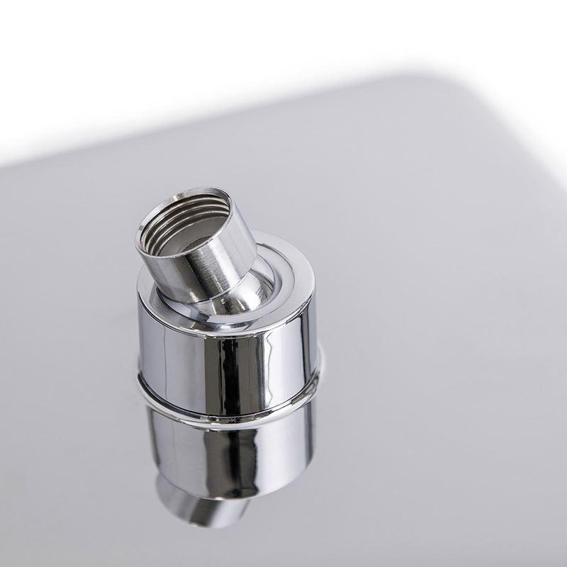 Colonne de douche avec robinetterie en cuivre chromé pour