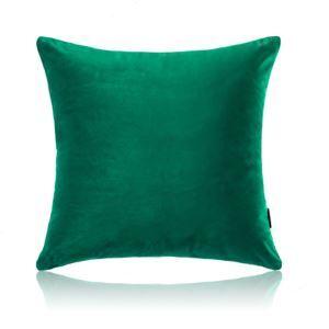 Taie d'oreiller velours couleur unie peluche canapé 5 couleurs 30*50cm