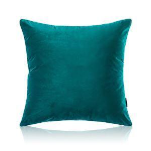 Taie d'oreiller velours couleur unie peluche canapé 5 couleurs 50*50cm