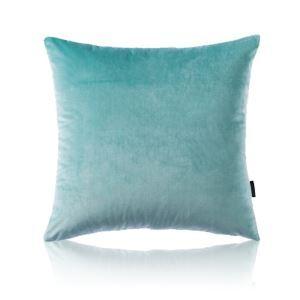 Taie d'oreiller velours couleur unie peluche canapé 5 couleurs 65*65cm