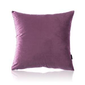 Taie d'oreiller velours couleur unie peluche canapé 10 couleurs 65*65cm