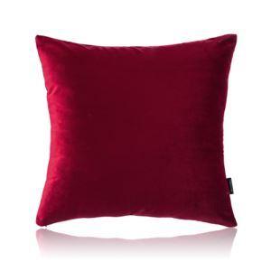Taie d'oreiller velours couleur unie peluche canapé 6 couleurs 65*65cm
