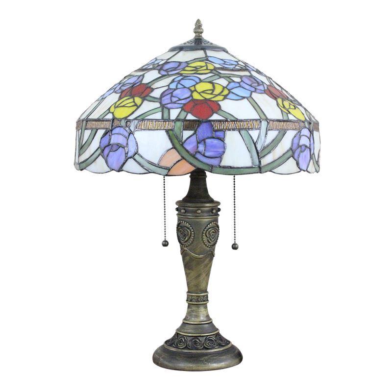 Abat 16 Jour Poserentrepôt Rétro En À Tiffany Inch De Lampe Lampes Verre Couleur Style Européen Ue Table bYyv6f7g