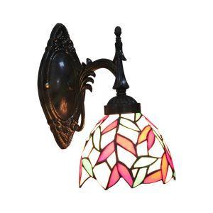 Applique à motif feuille coloris luminaire pour salon cuisine salle à manger