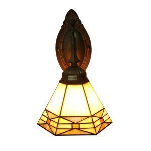 Applique en verre hexagone régulier luminaire pour salon cuisine salle à manger