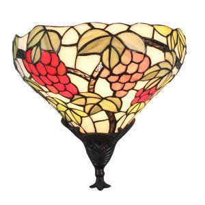 Applique intérieur tiffany vintage à motif des raisins luminaire pour cuisine chambre salon