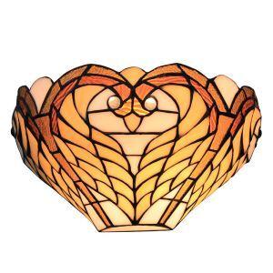 Applique intérieur tiffany vintage à motif des ailes luminaire pour cuisine chambre salon