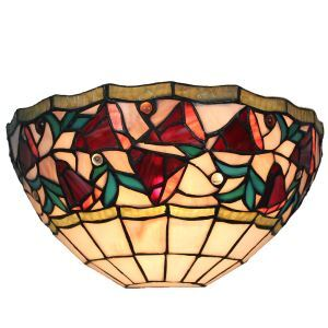 Applique intérieur tiffany vintage à motif colore luminaire pour cuisine chambre salon