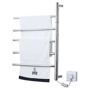 50W Sèche-serviette murale thermostatique L 50 cm pour salle de bain