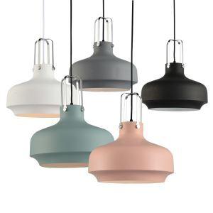 (Entrepôt UE)Suspension lustre simple européen forme de macaron lampe luminaire design pour cuisine chambre salle en fer à 1 lampe