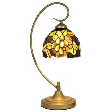 Lampe Luminaire Tiffany À Poser Des Chevet Salon Cuisine Pour Vintage Raisins Chambre Motif EDIW29H