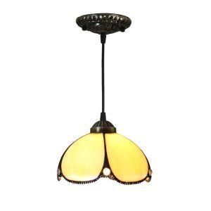 Suspension vintage en verre tiffany tiffany luminaire chambre salon cuisuine salle à manger