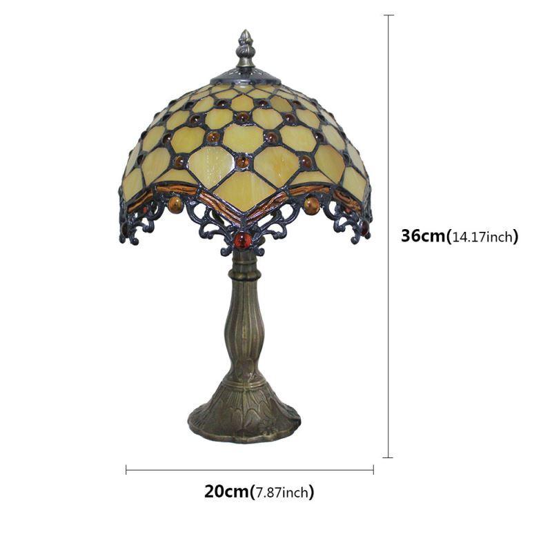 Base Avec Lampe Motif Encastrées Poser De Luminaire Salon Vintage Résine En À Grille Tiffany Chevet Perles Chambre Pour Cuisine 1TJlKuc3F5