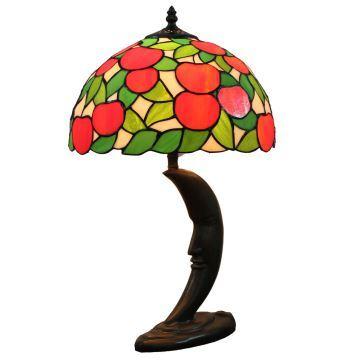 Lampe Poser Luminaire Pour Cuisine Pomme Salon Tiffany Chevet À Rouge Verre Table Chambre En gyYb6vf7