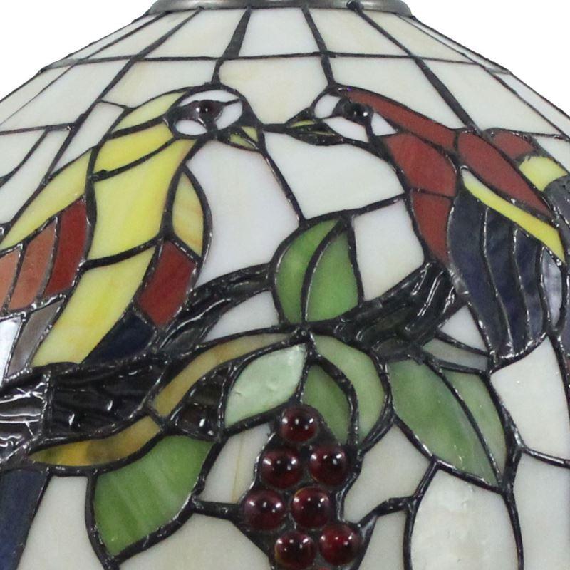 Tiffany Table Cuisine À Salon Poser Chevet Lampe Luminaire Pour Chambre En Perroquet Verre 34SRjcAq5L