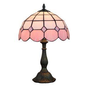 Lampe à poser en verre tiffany pour chevet table luminaire pour salon cuisine chambre