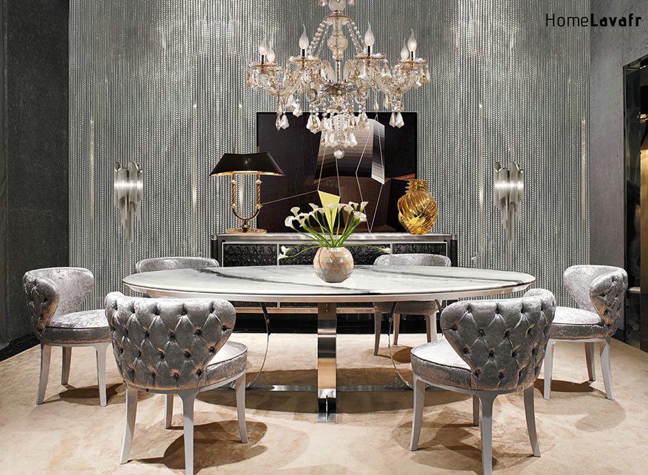 Salle à manger de luxe