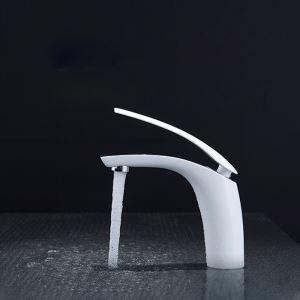 Mitigeur de lavabo laiton chromé H15cm 6 modèles pour salle de bains