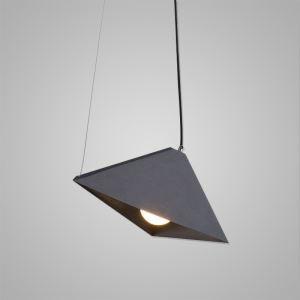 Suspension à 1 lampes en fer lampe pour chambre salle couloir 2 modèles