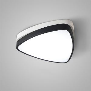 Plafonnier LED lampe de plafond pour cuisine salle à manger chambre luminaire blanc triagnle simple moderne