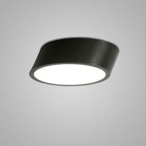 Plafonnier LED lampe de plafond pour salle à manger chambre luminaire rond design style simple moderne à 2 modèles épais
