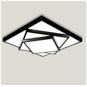 Plafonnier LED lampe de plafond pour salle à manger chambre luminaire design 3 couches à 2 modèles style américain campagne
