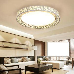 Plafonnier LED nid rond lampe de plafond pour salle à manger chambre