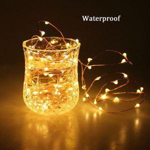 Guirlande lumineuse 40 LED design en forme de luciole décoration pour sapin de Noël