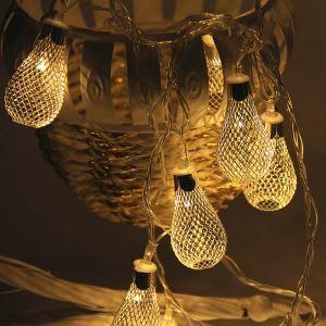 Guirlande lumineuse LED en forme de goutte d'eau décoration pour Noël