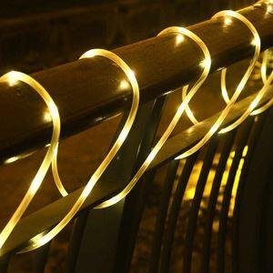 Guirlande lumineuse Micro LED 12 m extérieure imperméable décoration de sapin pour Noël