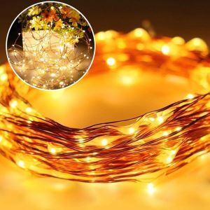 Guirlande lumineuse 10 m 100 LED décoration pour Noël