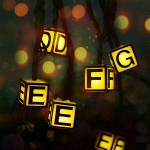 Guirlande lumineuse extérieures imperméables LED de lettre 6m décoration pour Noël