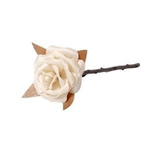 DIY Rose en bois délicate fait à la main décoration design pour chambre salle cadeau d'amoureux