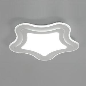 Plafonnier LED lampe de plafond pour salle à manger chambre luminaire étoile de mer géométrique simple moderne